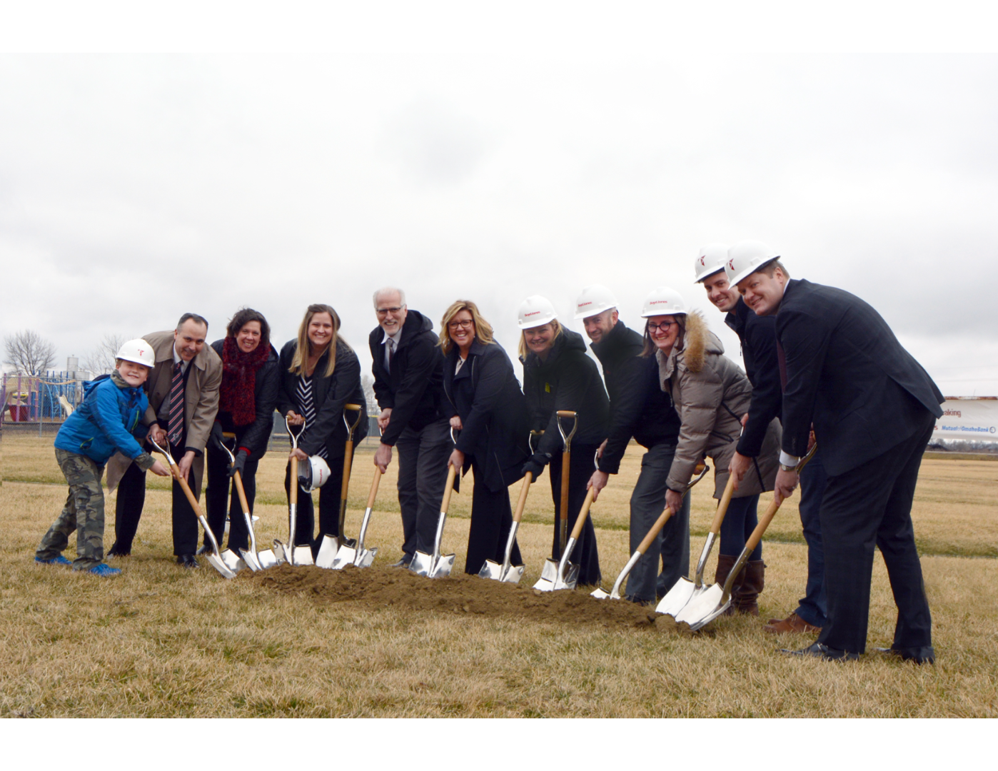 DC West Elementary Ground Breaking