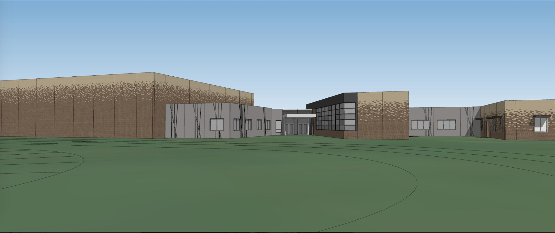 DC West Elementary Front Entrance