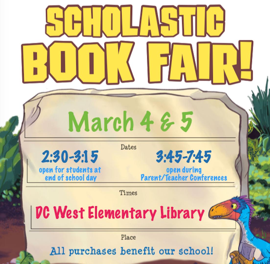 DC West Community Schools - Book Fair! New eWallet Option!